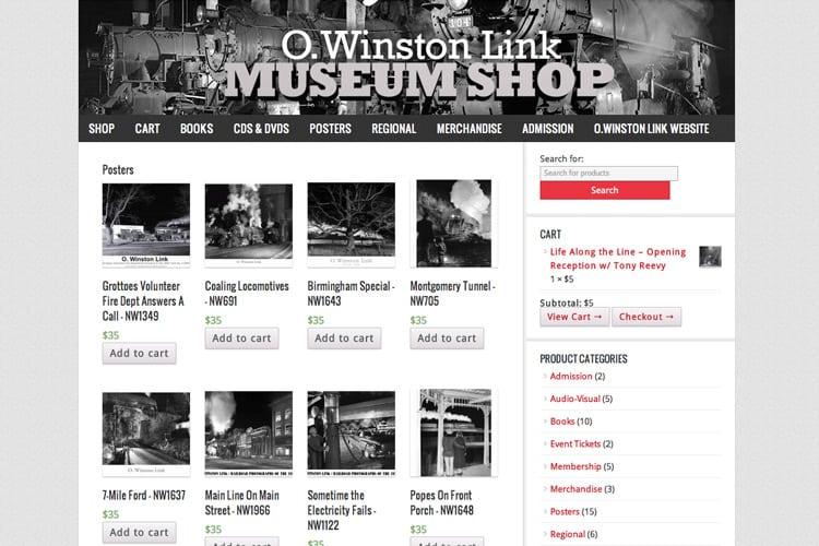 O.Winston Link Shop