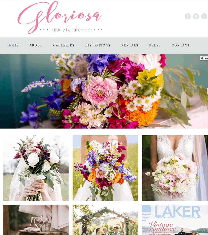 Gloriosa Flowers