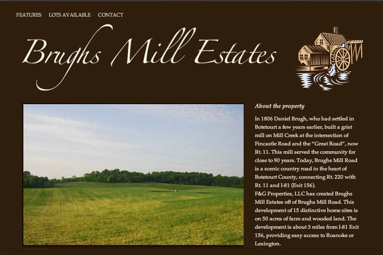 Brughs Mill Estates
