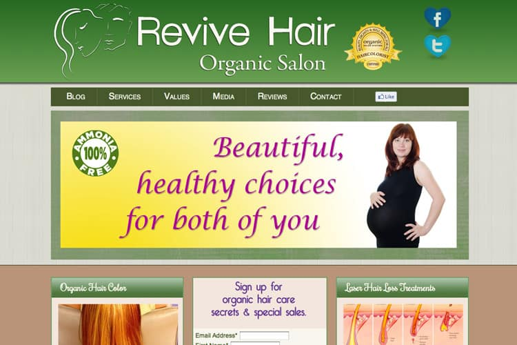 Revive Hair Organic Salon