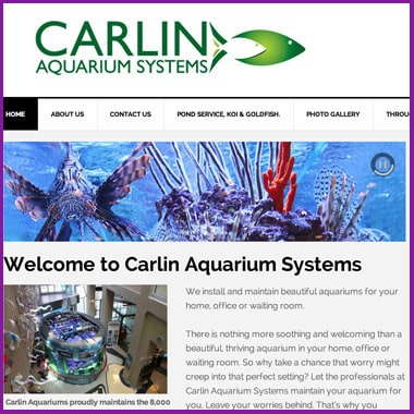 Carlin Aquarium Systems