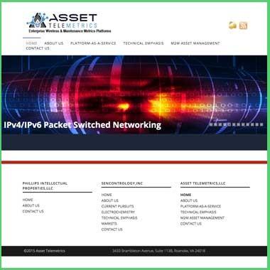 Asset Telemetrics Web Design