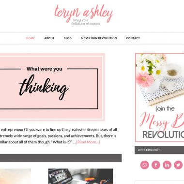Teryn Ashley – redesign